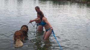 George. Cómo entrar al agua sin miedo